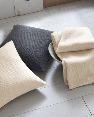 Eileen Fisher Textured Cashmere Throw by Garnet Hill