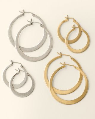 Jane Diaz Hoop Earrings