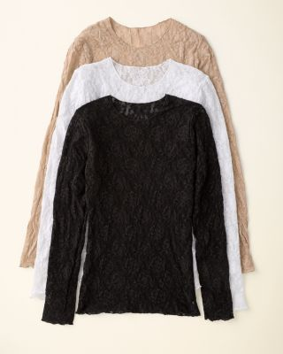 Hanky Panky Lace Long-Sleeve Pullover