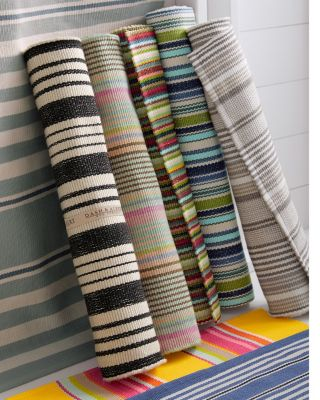 Bertie Stripe Indoor-Outdoor Rug by Dash & Albert