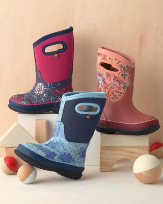 Kids' BOGS® Pull-On Waterproof Boots
