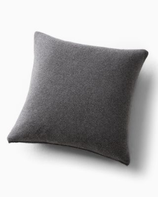 EILEEN FISHER Textured Cashmere Pillow Cover