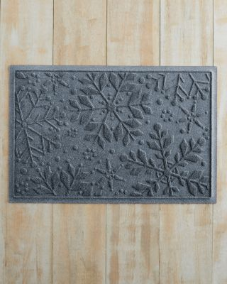 Snowflakes Water Guard Mat