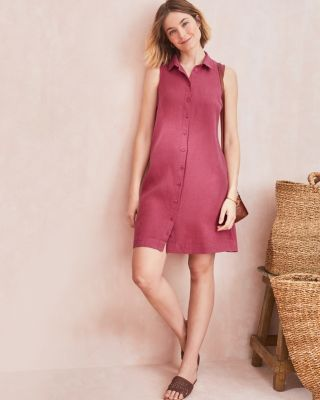 Linen Shirtdress