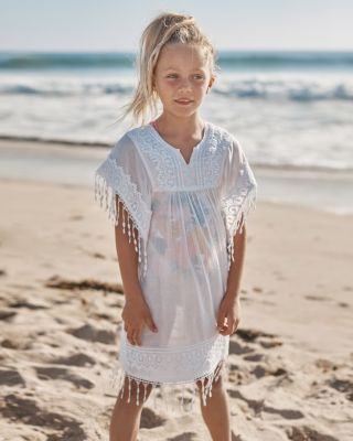 Girls' Seaside Cotton Cover-Up
