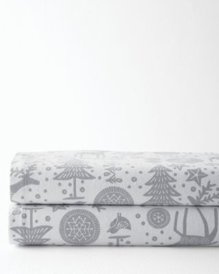 Signature Nordic Forest Flannel Bedding