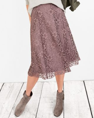 midi-lace-skirt by garnet-hill