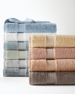 Plush Egyptian Cotton & Bamboo Towels