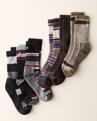 Smart Wool® Men's Trio Gift Set by Garnet Hill