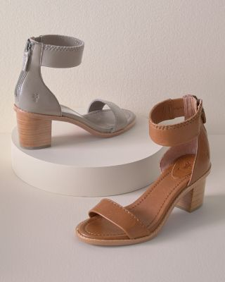 Frye Brielle Back-Zip Sandals