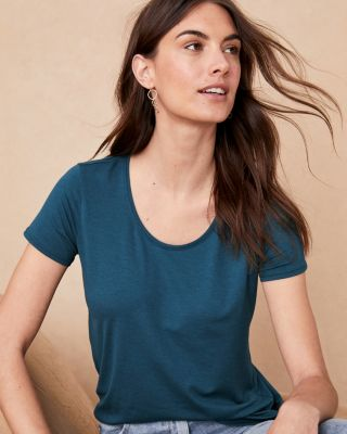 2b1230850 Essential Short-Sleeve Tee | Garnet Hill