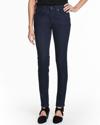 EILEEN FISHER Organic-Cotton Stretch Skinny Jeans