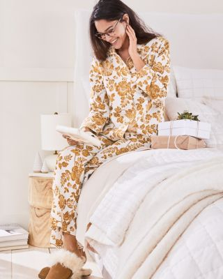 Organic Cotton Classic Flannel Pajamas by Garnet Hill