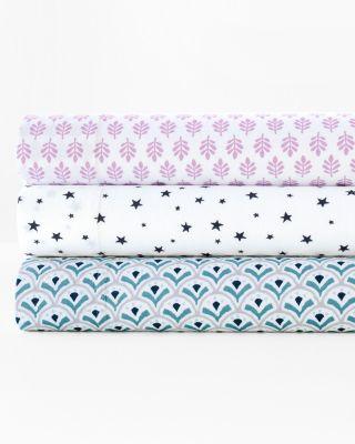 Playful Prints Jersey Knit Bedding by Garnet Hill