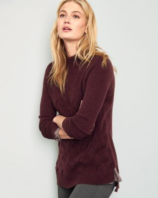 Cashmere Cabled Sweater
