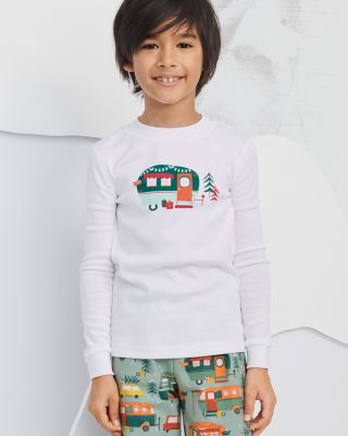 Kids' Organic-Cotton Graphic Sleep Tee