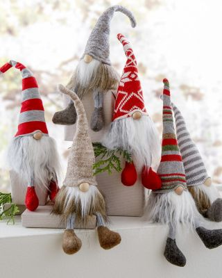 Felt Holiday Gnomes Set
