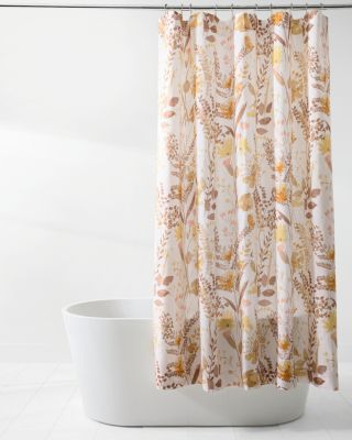 Wildflower Linen Shower Curtain