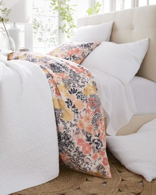 New Meadow Floral Organic Cotton Percale Bedding by Garnet Hill