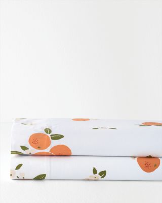 Clementine Organic-Cotton Percale Bedding