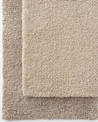 EILEEN FISHER Undyed Chunky Wool Rug