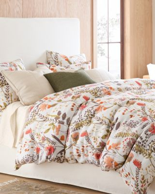 Wildflower Linen Duvet Cover, Sham, And Pillow Cover by Garnet Hill