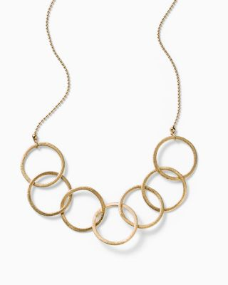in2 design Ebba Open Circles Necklace
