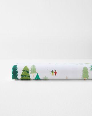 NewWinter Woods Organic Cotton Percale Bedding by Garnet Hill