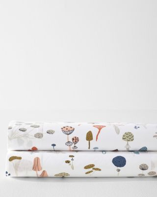 Mushroom Organic Cotton Percale Bedding by Garnet Hill