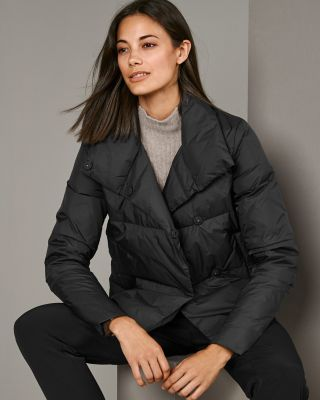 Cropped Packable Down Jacket
