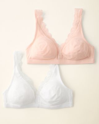 Hanro Cotton Lace Soft-Cup Bra