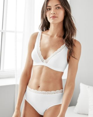 Hanro Cotton Lace Brief