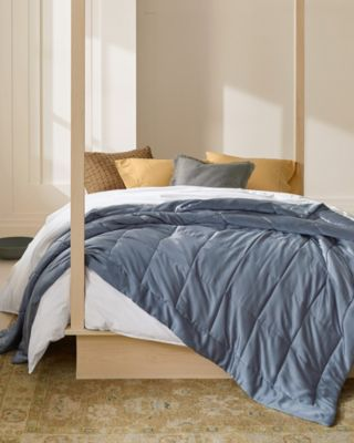 EILEEN FISHER Ethereal Silk-Filled Quilt & Sham