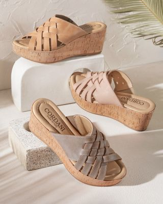 Cordani Dorene Wedge Sandals