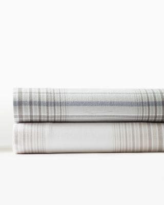 Plaid Supima® Flannel Bedding