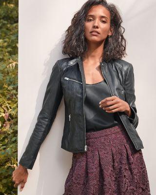 Marc New York Felicity Leather Jacket by Garnet Hill