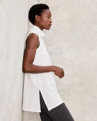 Mock-Neck Tunic
