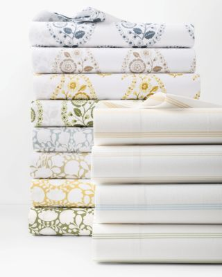 Siesta Patterned Organic-Cotton Percale Collection