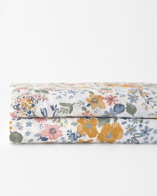 Sun Valley Floral Relaxed-Linen Bedding