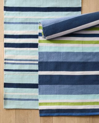 Dash & Albert Indoor-Outdoor Striped Rug