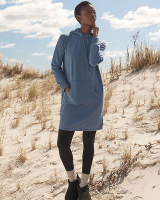Trainer Hooded Dress
