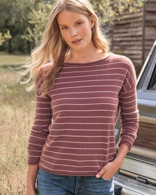 Essential Cashmere Boatneck Sweater