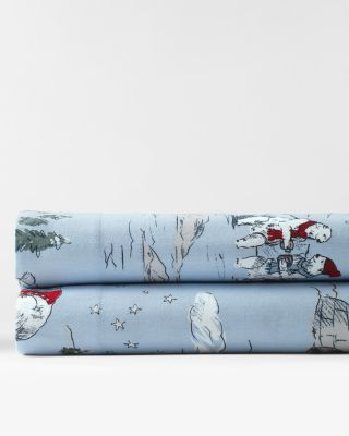 Polar Bear Flannel Bedding