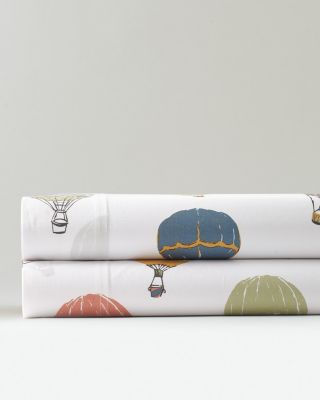 Up-in-the-Air Organic-Cotton Percale Bedding