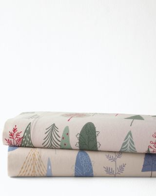 Slumber Forest Organic-Cotton Flannel Bedding