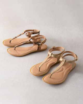 Børn Acqualina Thong Sandals
