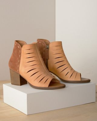 Avery Open-Toe Bootie