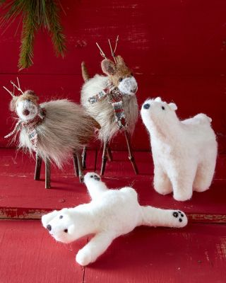 Felted Winter Animals