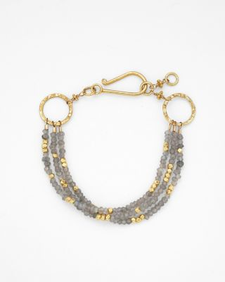 Robindira Unsworth Three-Strand Bracelet