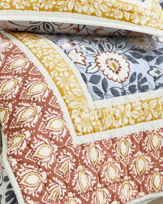 Fiona Floral Quilt and Sham